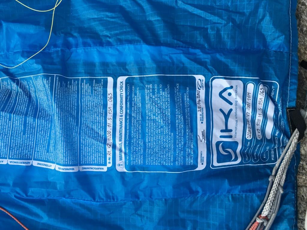 Ozone R1V2 11m bleue Image017