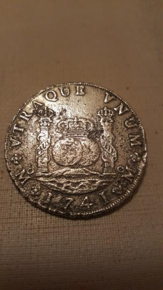 8 Reales de 1741 de Felipe V  (Hollandia, 1743) 12020011