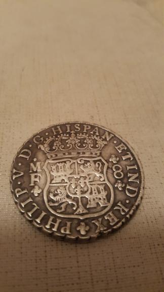 8 Reales de Felipe V de 1747  20191211