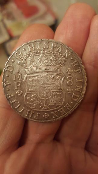 8 reales de Felipe V de México, 1746 20191225