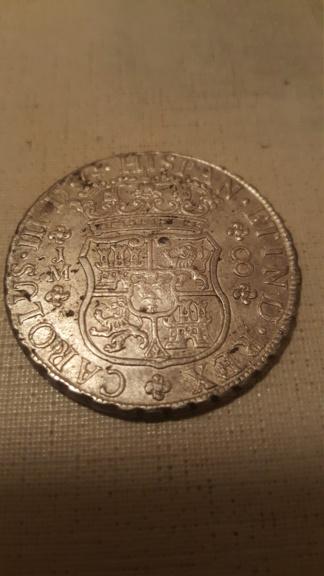 8 Reales de Carlos III de 1767: Lima  20200620