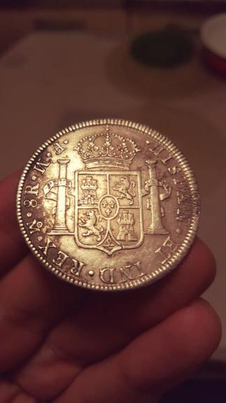 8 Reales de Carlos III de 1772: Méjico  20200715