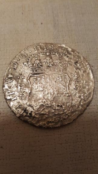 8 Reales de Felipe V de 1734 (Hollandia, 1743) 20210217