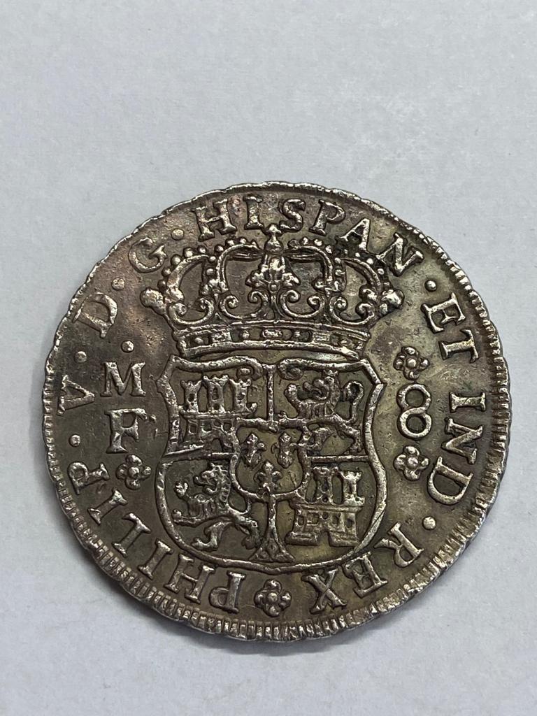 8 Reales Felipe V 1742 Img-2014