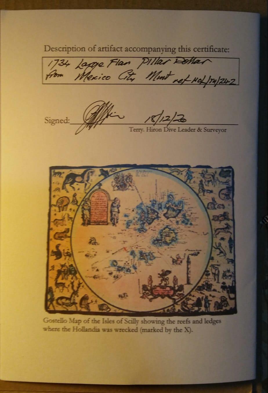 8 Reales de Felipe V de 1734 (Hollandia, 1743) Img-2021