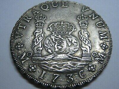 8 reales de Felipe V de 1736 (naufragio) S-l40010
