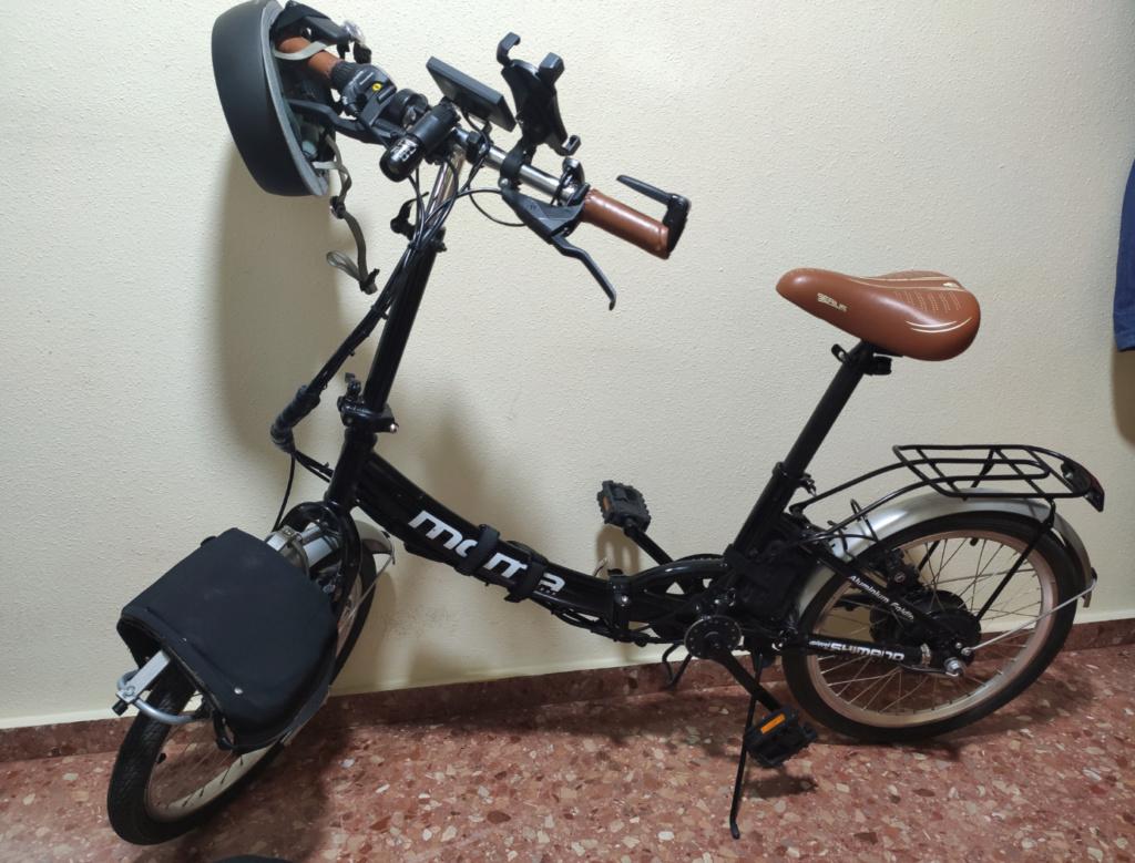 """Desde Valencia. Moma plegable 20"""" electrificada Bici10"""