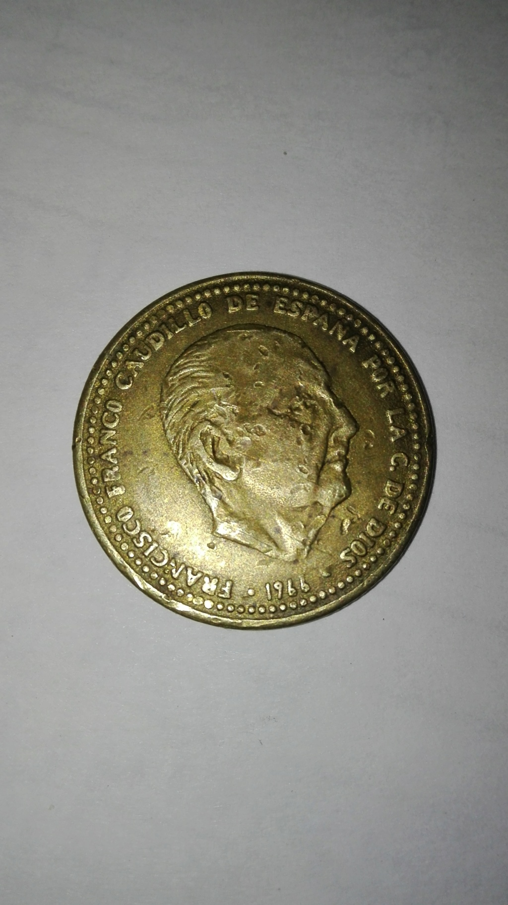 1 peseta de Franco Img_2013