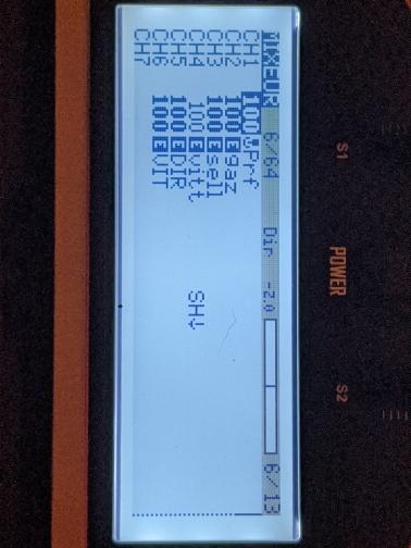 Programmation d'un camion RC sur ma X9E Mixeur10