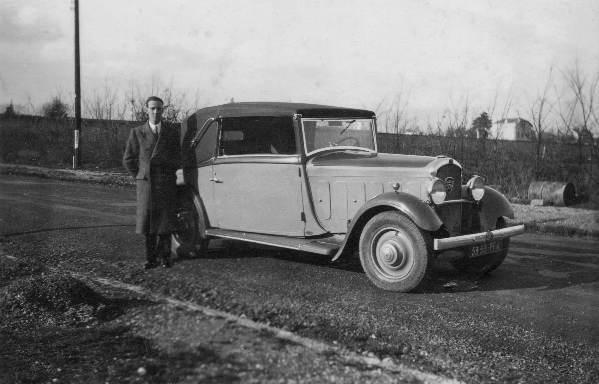 Présentation Christophe et sa 301 1932-313