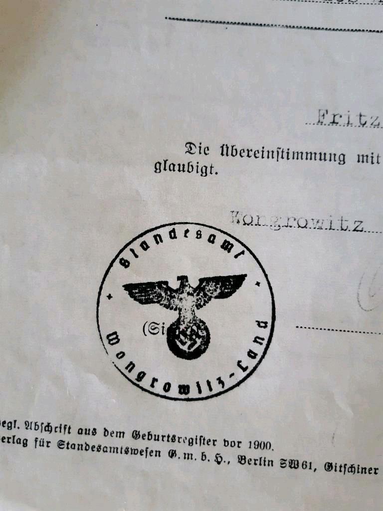 Des documents administratifs allemands Doc210