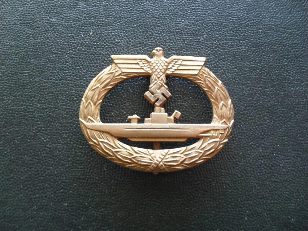 Ubootkriegsabzeichen avec diplome ! I210