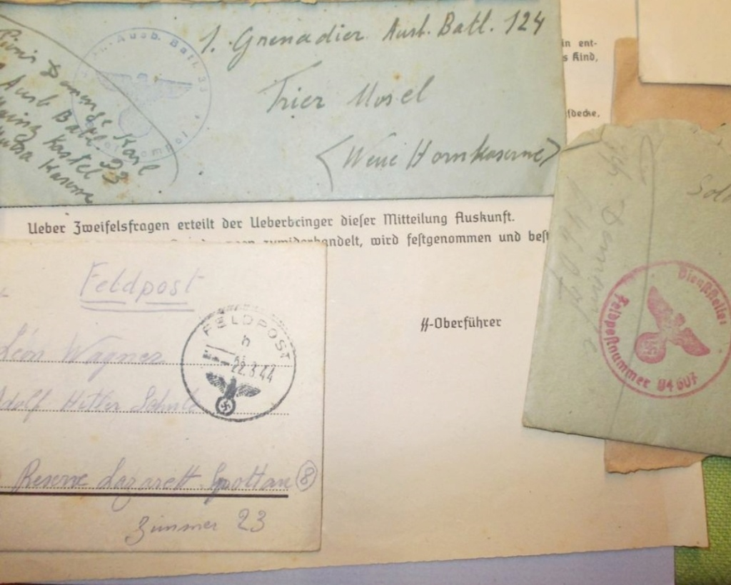 Un lot de lettres allemandes Lettre12