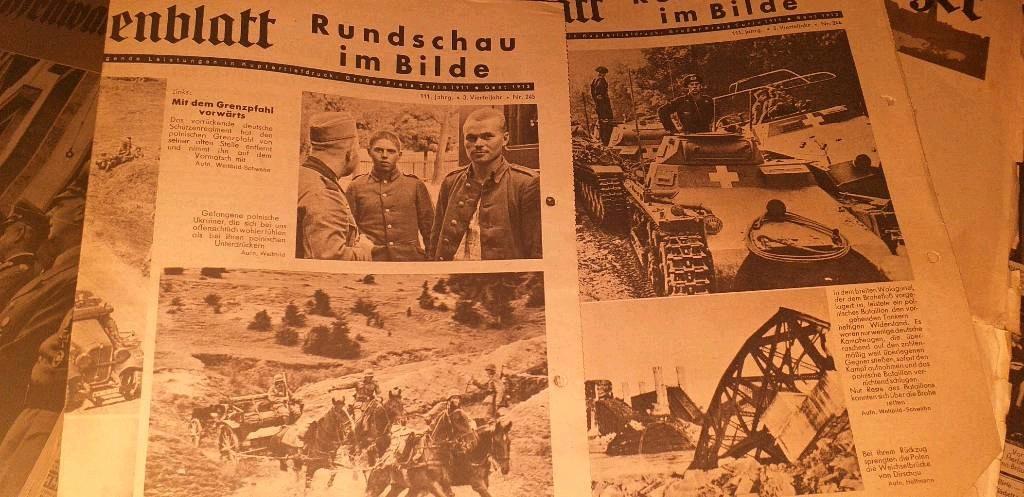 Des suppléments de journaux allemands Page210