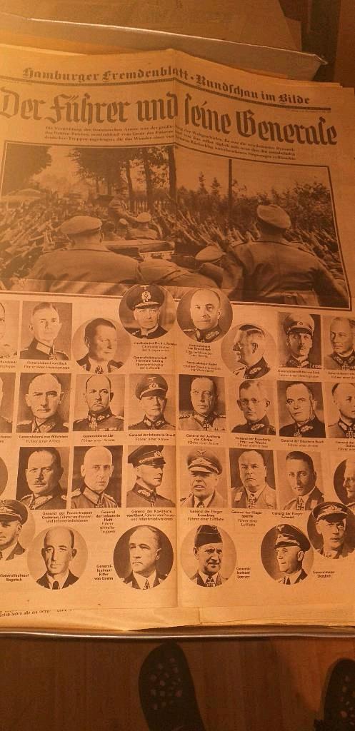 Des suppléments de journaux allemands Page410