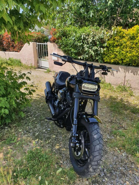 Mon Fat Bob 2019 All Black et son évolutions  20200514