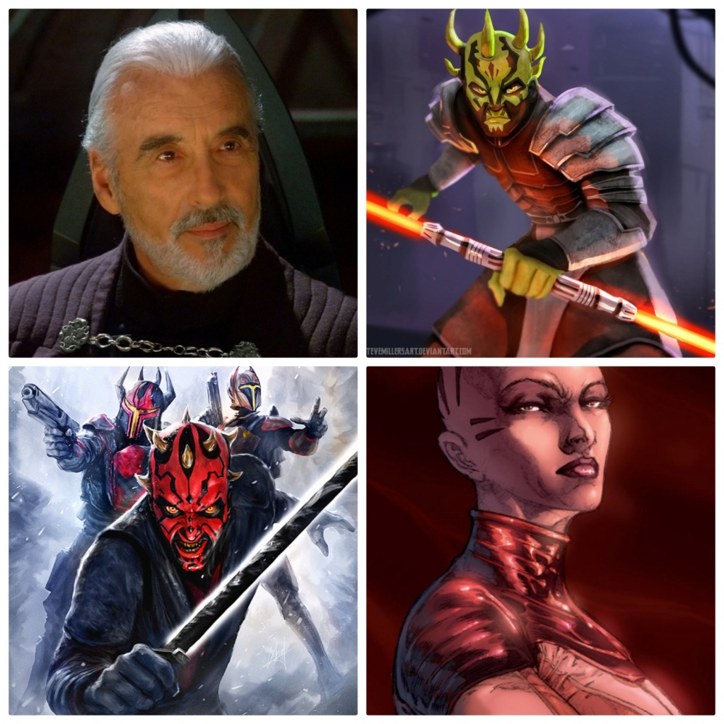 Revan Vs. Count Dooku, Savage Opress, Darth Maul and Asajj Ventress 15954811