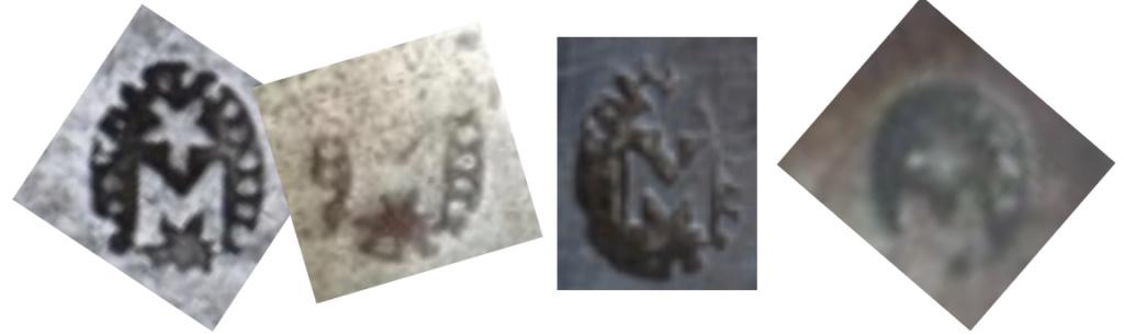 identification poinçons sabre cuirassier an XI Marion11
