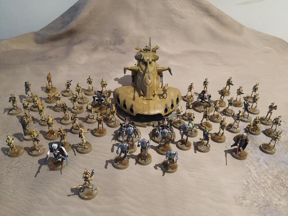 Ejércitos,ensamblajes,pintura y diseños de peanas.  Dorid110