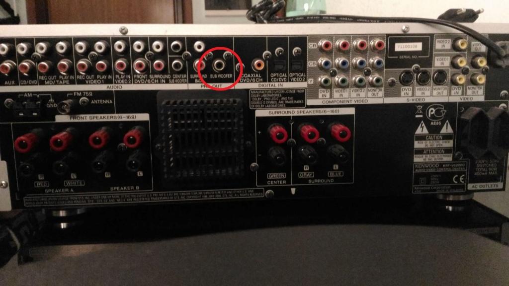 HELP? è possibile collegare un subwoofer Passivo ad una presa che prevede un sub attivo? Ampli10