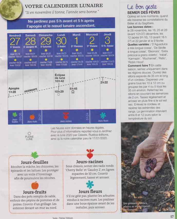 votre calendrier lunaire de la semaine - Page 7 13i11