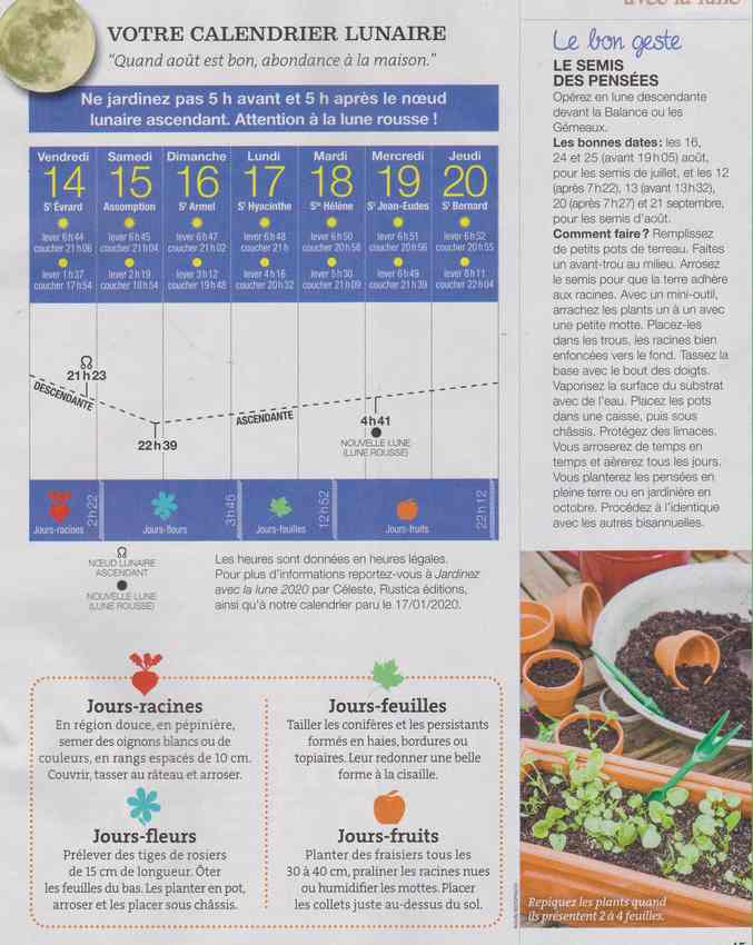 votre calendrier lunaire de la semaine - Page 7 2a10