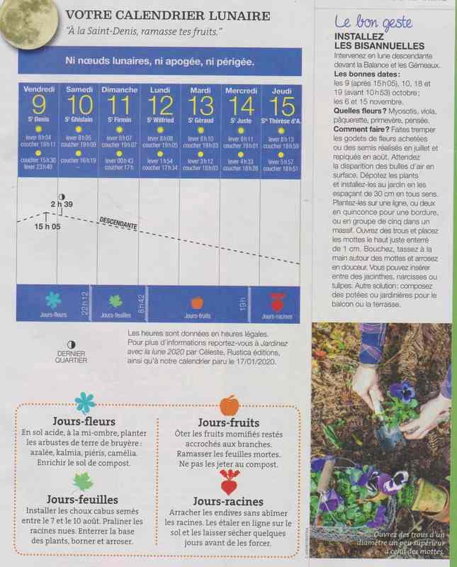 votre calendrier lunaire de la semaine - Page 7 3a19