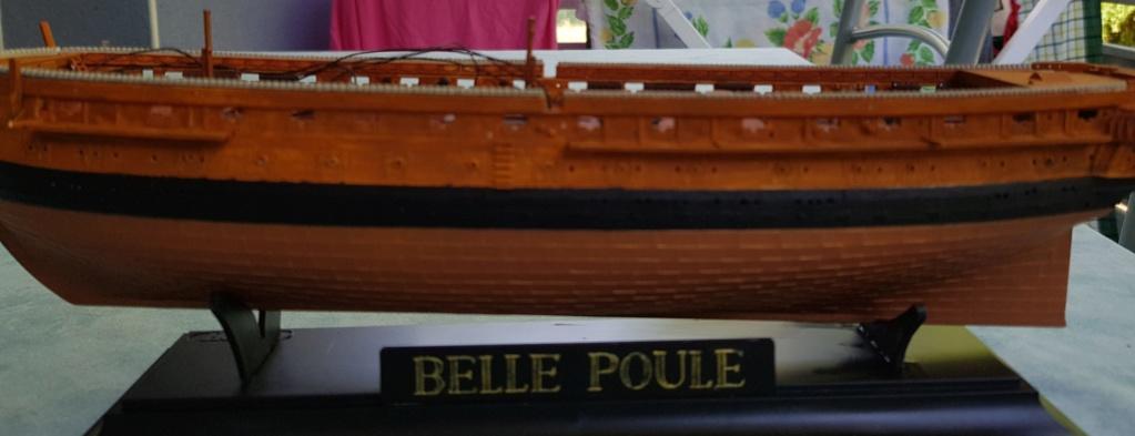Frégate BELLE POULE 1/200ème Réf 80838 Coque110
