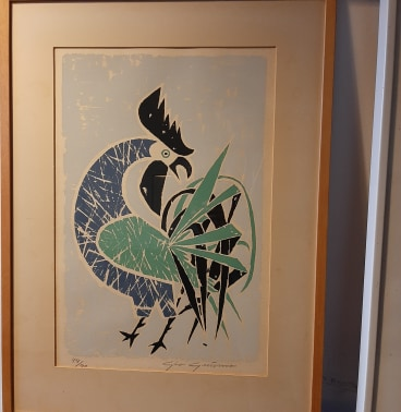 Swedish screen printing art - does anyone recognize the artist's signature? 15517011