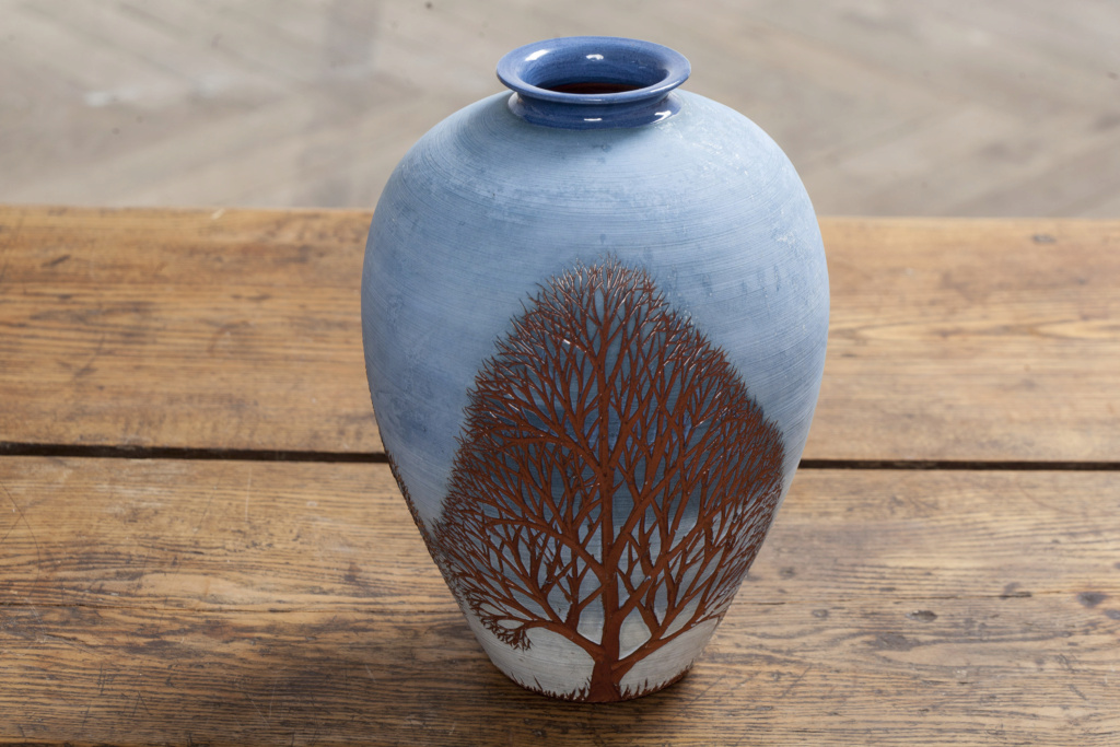 Scandinavian Studio Vase - Per Liljegren, Sweden Img_1111