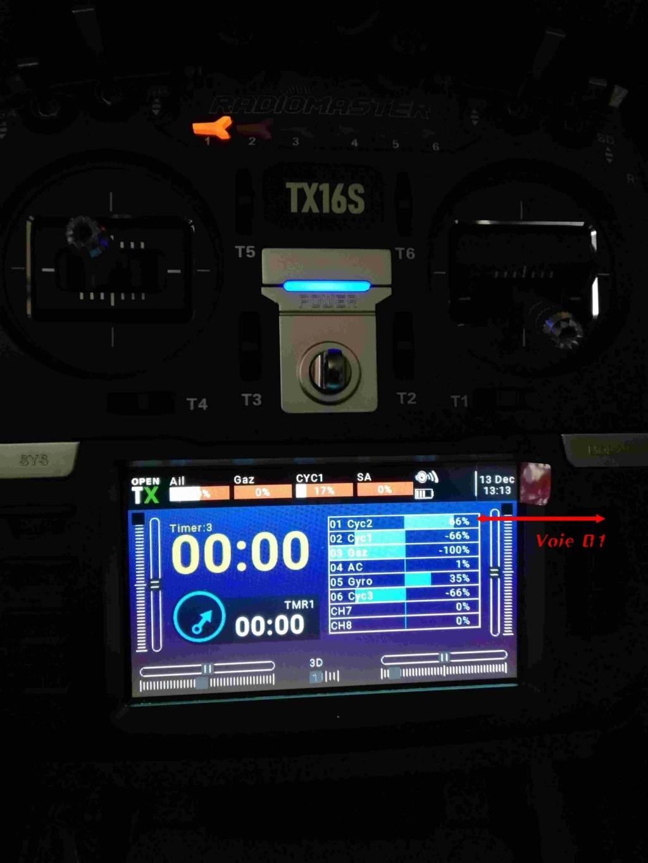 Radiomaster TX16s: Inverser les cross-bars des Widgets Ecran_11