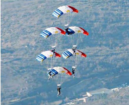 Equipe Paras de présentation et compétition de l'Armée de l'Air Air_pa11