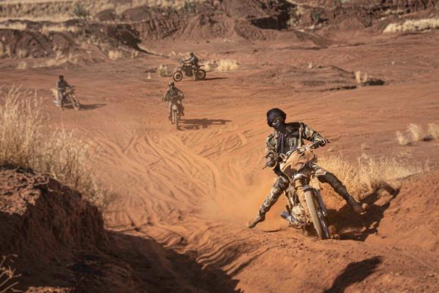Photo : Moto au Mali Une_2010