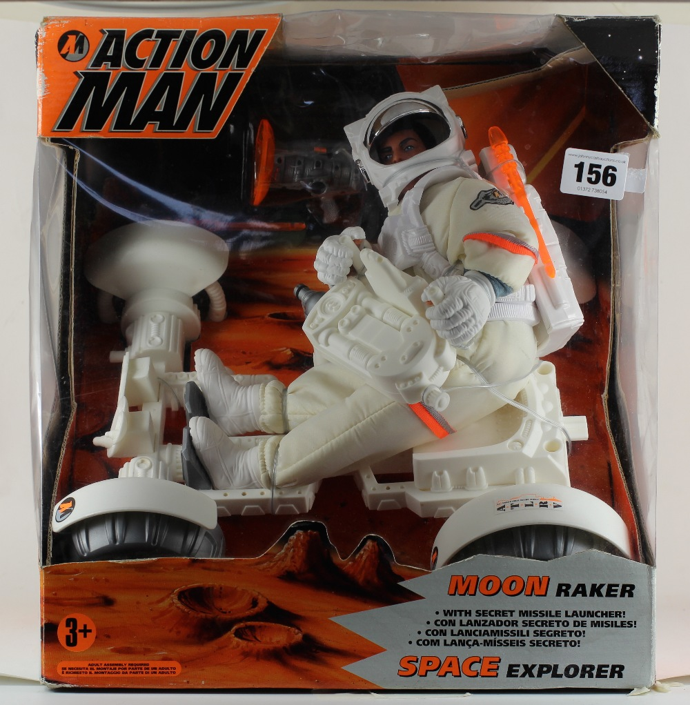 Action Man Space figures, carded sets and vehicles. Origin10