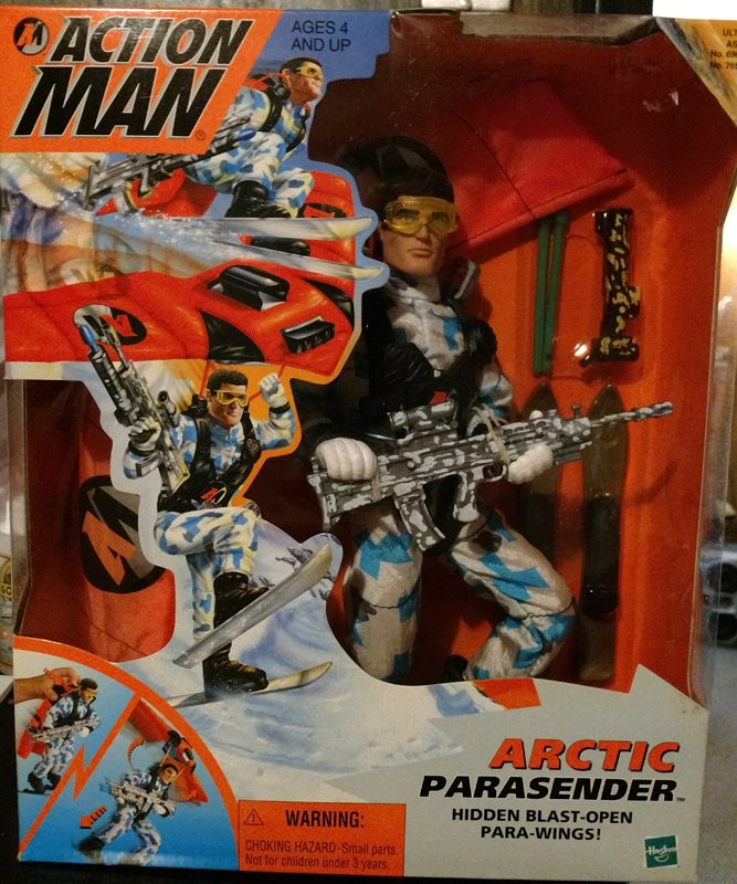 Action Man Arctic figures, carded sets and vehicles. Parase11