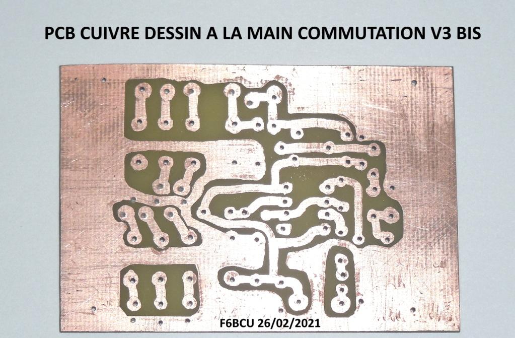TRANSCEIVER  **FUNK DSB CW ** V3 BIS nouveau Concept Pcb_co10