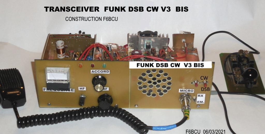 TRANSCEIVER  **FUNK DSB CW ** V3 BIS nouveau Concept Photo_16