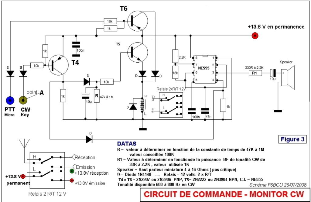NOUVELLE CONSTRUCTION OM  le Transceiver FUNK DSB CW 80 V3 Schema16