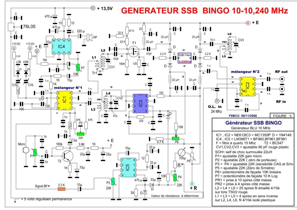 CONSTRUIRE SON TRANSCEIVER  SSB  mono ou multi bandes Schema21