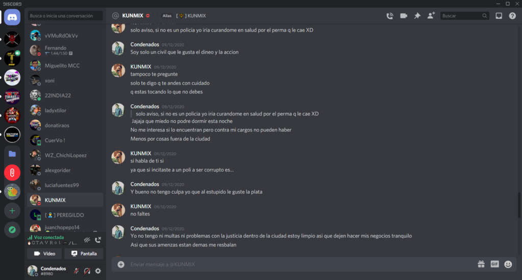 pruebas del reporte anterior Kunmix11