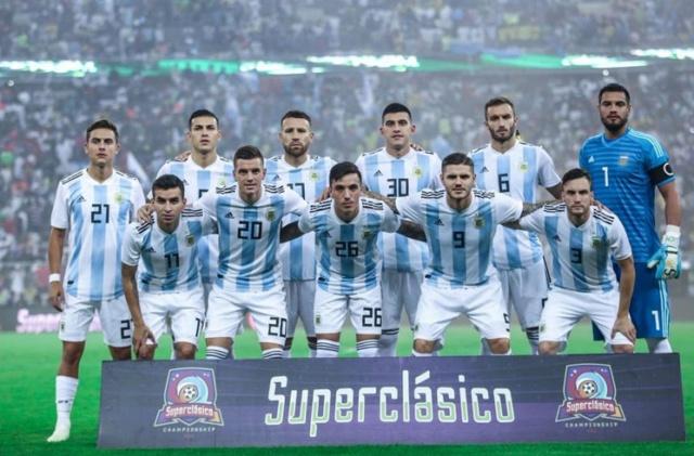 Hilo de la selección de Argentina Argtea10