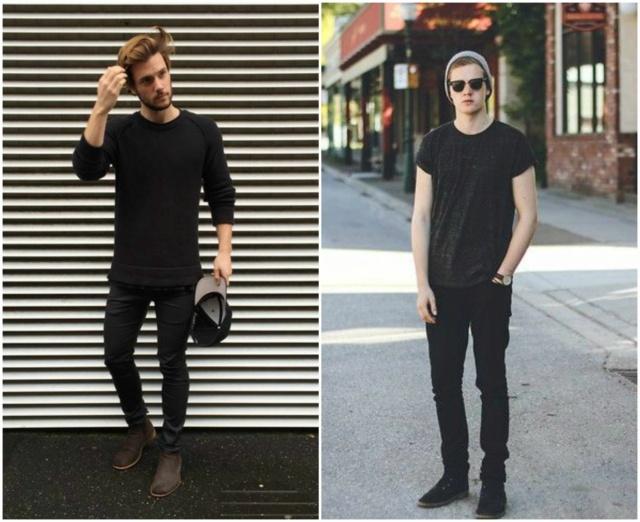 Moda masculina Total-10