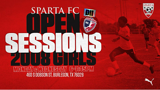 Sparta FC 08 Girls - LHGCL D2/NPL, 2021-2022 Sparta11