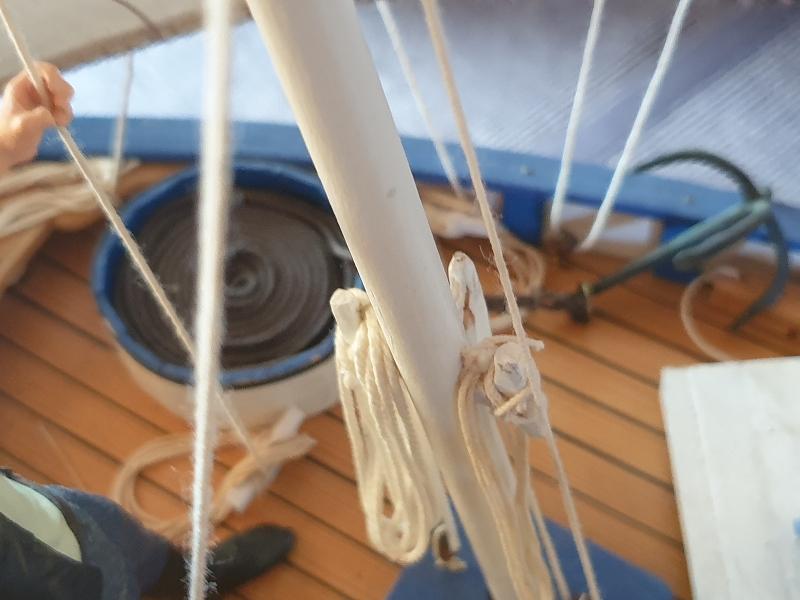 Palma Nova Fischerboot mit Lateinersegel 0716