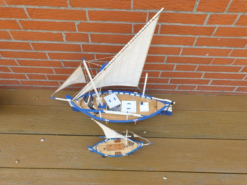 Palma Nova Fischerboot mit Lateinersegel 0919