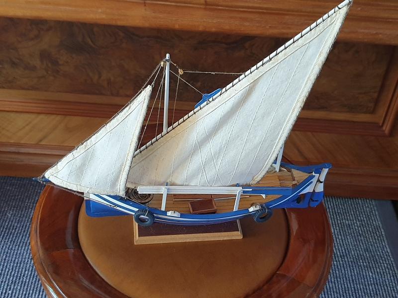 Palma Nova Fischerboot mit Lateinersegel K-0111