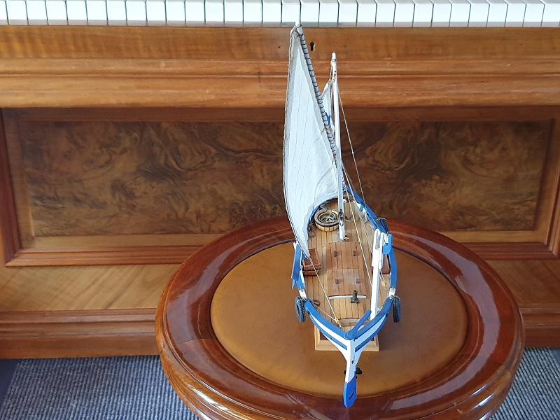 Palma Nova Fischerboot mit Lateinersegel K-0211