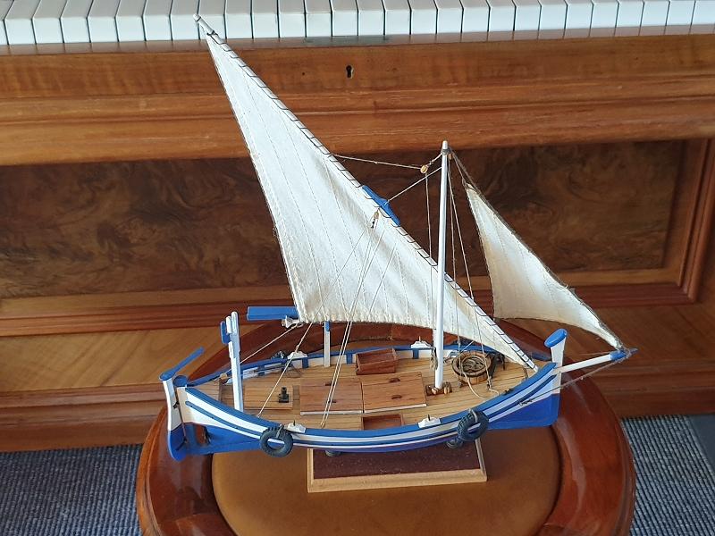 Palma Nova Fischerboot mit Lateinersegel K-0311