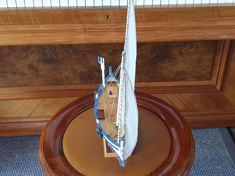 Palma Nova Fischerboot mit Lateinersegel K-0411