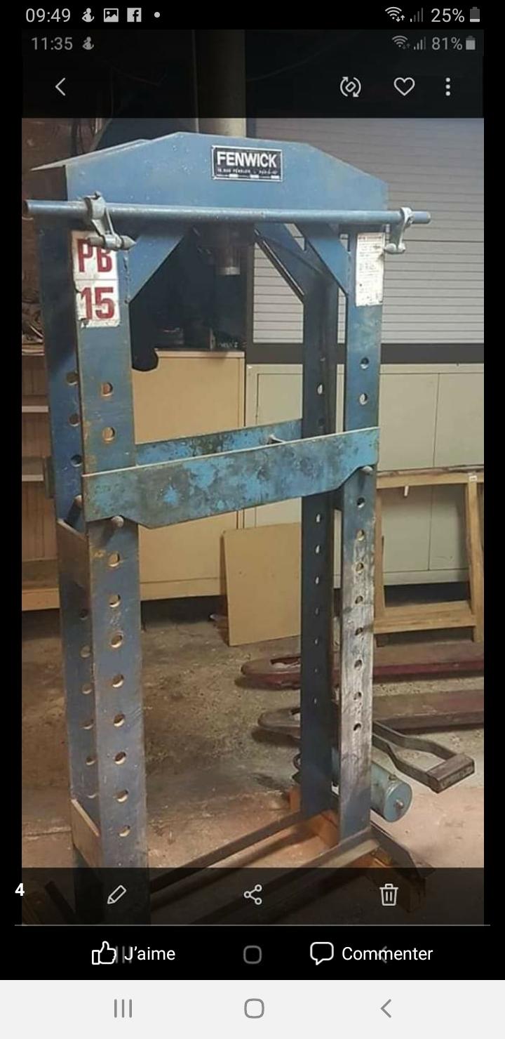 Pieces détachées presse hydraulique  Screen11